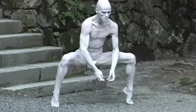 Butoh Dance Performance in Japan