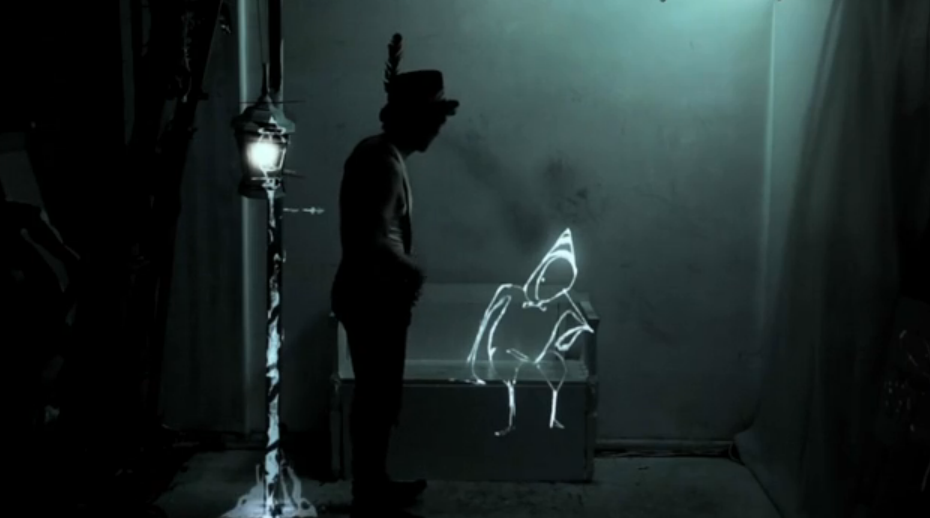 Projection mapping live performance art – The Alchemy of Light by a dandypunk01